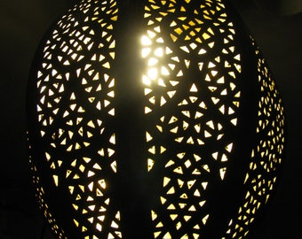 Moroccan Arabian Oriental Brass  lamps for hanging