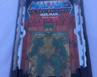 SALE******Commemorative edition Masters of the Universe Merman New in Box!! Unopened!!