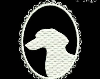 Dachshund embroidery machine design dog animal digital instant download pattern hoop file t-shirt outline designs