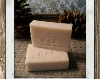Goat Milk Soap: Birthday Suit (our naked bar) 3oz