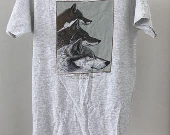 Wild Canines 1990 by Diana Dee Tyler t shirt