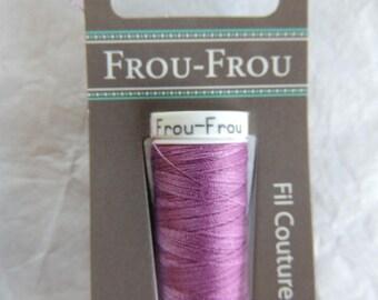 Wire à coudre tous textiles Frou-Frou pink India