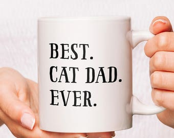 Cat Dad | Cat Dad Mug | Cat Daddy Mug | Cat Daddy | Cat Dad Gifts | Dad Cat | Gifts For Cat Dads | Cat Dads Gift | Father Of Cats