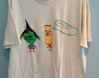 1994 Stone Temple Pilots deadstock STP shirt size XL official Vintage