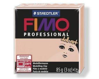 Fimo clay Professional 85 g pink 8027.432 - polymer clay Art Doll