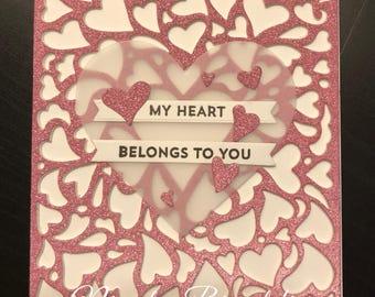 My Heart Greeting Card