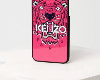 IPhone and Samsung Kenzo Tiger new blister pink shell