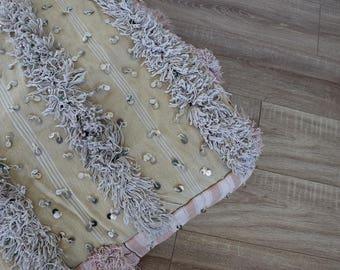 Vintage 'Indie' Handira Floor Cushion