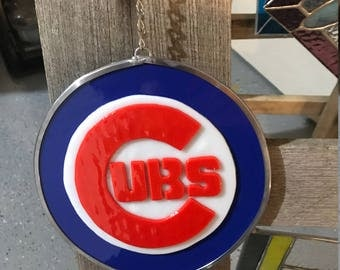 Favorite Sports Team Fused Glass Wall Art Suncatcher