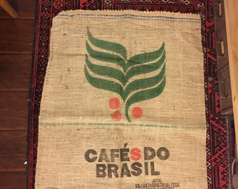 Vintage Burlap Coffee Sack