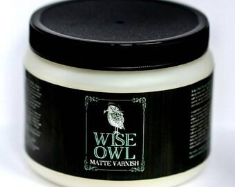 Wise owl matte varnish - QUART