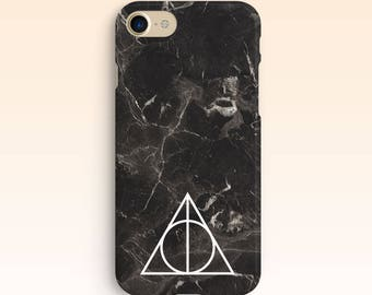Marble iPhone 7 Case iPhone 6 Phone Hard Case 7 Plus Case Apple Case iPhone 5/5s Harry Potter Black Case For Samsung Galaxy s6 for s5 004