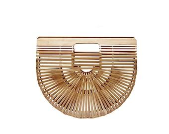Straw handbag | Etsy