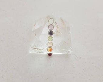 Clear Crystal Quartz Prymaid