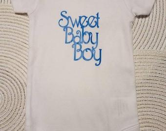 Sweet baby boy onesie