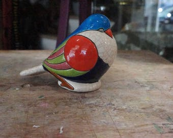 Bird in enamels of LONGWY