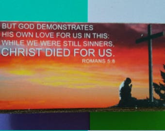 But while we were yet sinners..