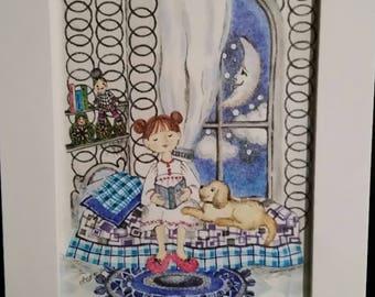 Dreaming Under Moonlight by Carol Barbeau