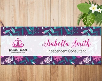 PERSONALIZED Paparazzi Business Card,Paparazzi Facebook Cover, Custom Paparazzi Accessories Business Card, Printable Business Card PZ19