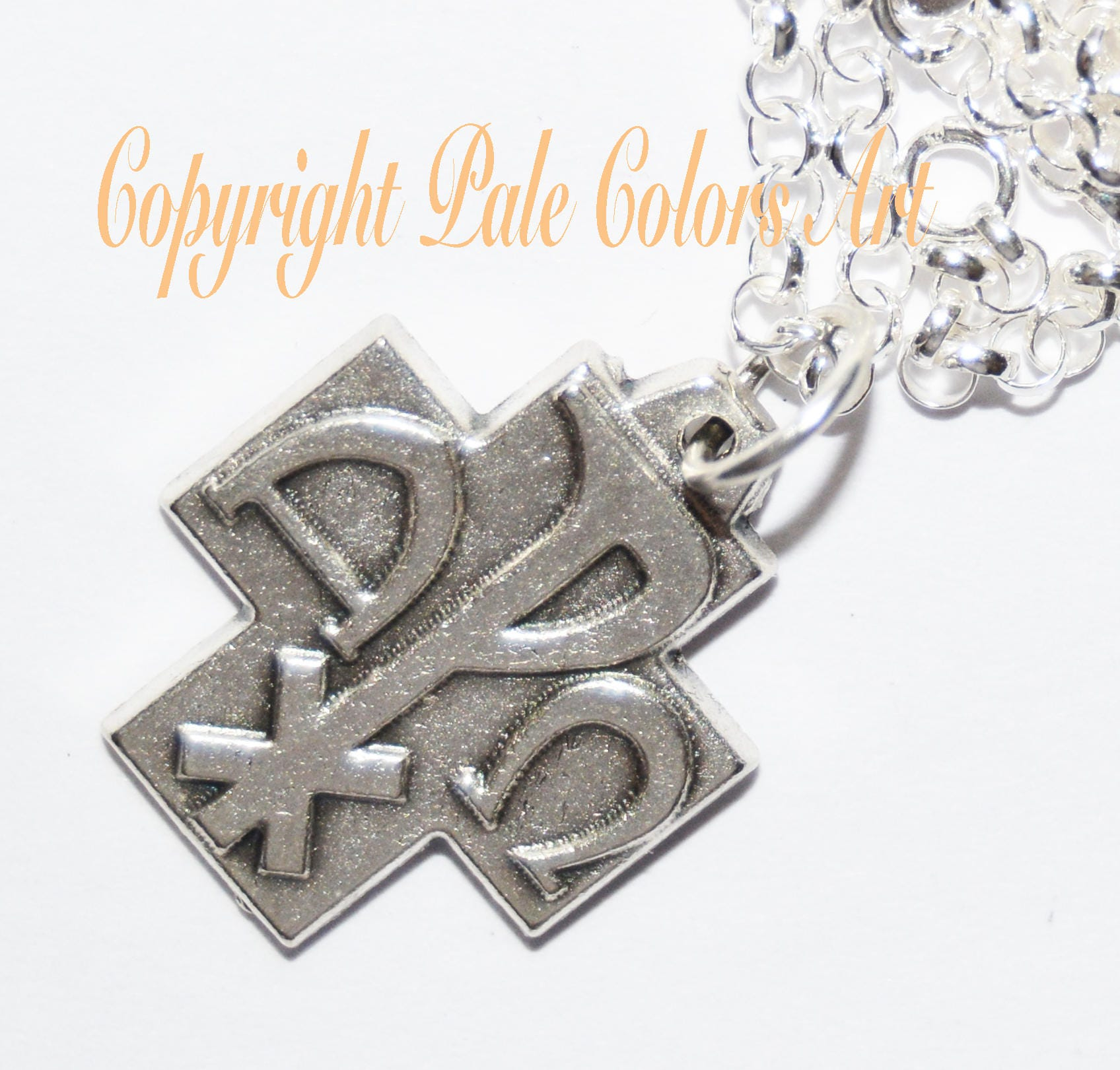 Greek cross necklacealpha omega cross necklacesterling silver greek cross necklacealpha omega cross necklacesterling silver chain necklacegreek symbols alpha omega necklacethe beginning and end buycottarizona