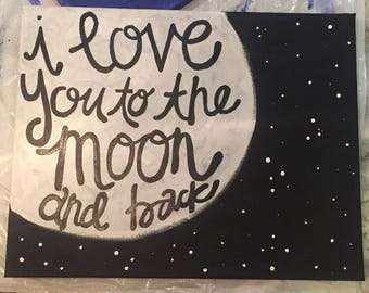 Customized Painted Canvas