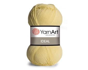 Ideal Yarn Art Mercerized cotton Yarn for knitting Crochet yarn Cotton yarn Summer yarn Cotton yarn Hand knit yarn Color choice Amigurumi