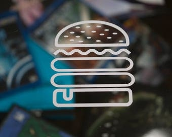 Burger Decal