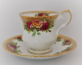 Elizabethan cup and saucer-fine bone Chine England