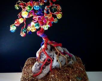 bonsai wire tree