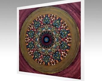 Fine Art Print - Journey to Lemuria Mandala