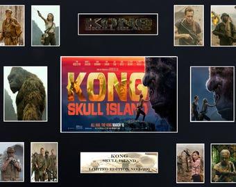 """KONG Skull Island (16"""" x 12"""") Display"""