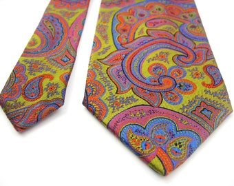 Paisley necktie Silk Tie