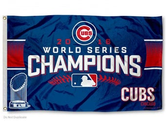Chicago Cubs 2016 World Series Champions Flag (3' x 5')