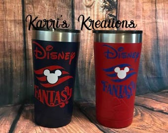 Disney Cruise Line Inspired Tumbler Fish Extender Gifts