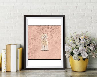 DOG PRINT, Cute Dog prints and pictures, Dog prints wall art, Nursery Dog Print Art, Nursery Wall Art, Animal Wall Art, Puppy Art, Dog Art