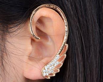 Attractive & Elegant SWAN EAR cuff PIECE