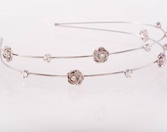 Gorgeous Ultra lightweight Flower girl crystal hair accessory,Bridesmaid crystal headband,tiara,Bridal accessory,Hair jewellery,bridal