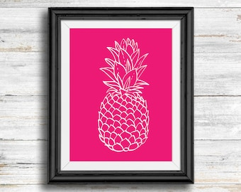 Pink Pineapple - Digital Download