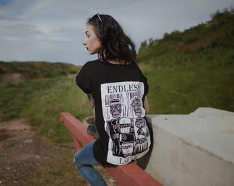 T shirt ENDLESS love Gandhi T-shirt