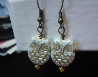 Whoo Did It? Owl Earrings