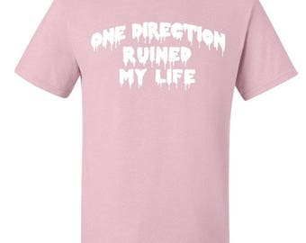 1D / One Direction Ruined My Life T-Shirt