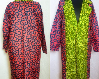 African Inspired Ankara Coat