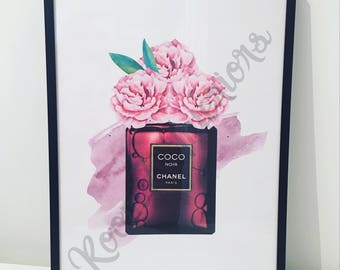 Chanel Bottle print (Room7 design)