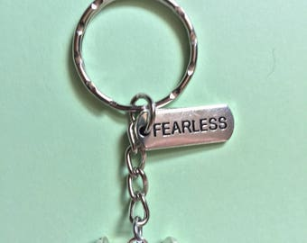 FEARLESS weight keyring