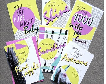 GREETINGS CARDS/Good Vibes Cards/Retro Cards/Designer Cards/Friendship Cards/Love Cards/Just Because Cards/Colourful Cards/Fun Cards