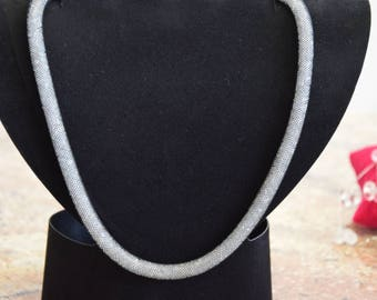 925 sterling silver Swarovski Crystal Necklace