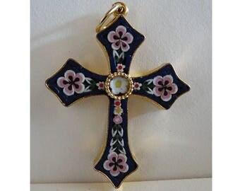 MICRO mosaic cross. Micro mosaic Cross.