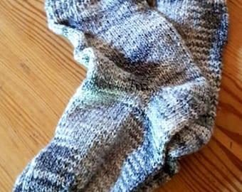 Hand-knitted children socks size 30/31