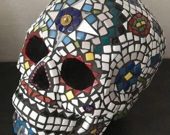 Mosaic skull 1