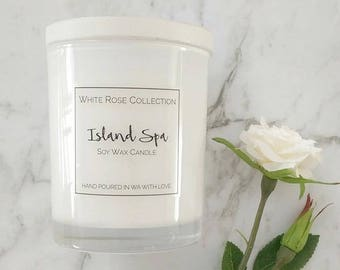 White Glass - Soy Wax Candle